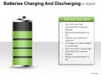 Batteries Charging Style 4 PowerPoint Presentation Slides