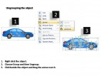 Blue Family Car Side View PowerPoint Presentation Slides