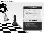 Chess Board PowerPoint Presentation Slides