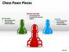 Chess Pawn Pieces PowerPoint Presentation Slides