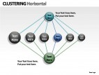 Clustering Horizontal PowerPoint Presentation Slides