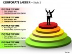 Corporate Ladder Style 3 PowerPoint Presentation Slides