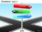 Directions Style 2 PowerPoint Presentation Slides