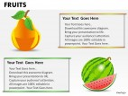 Fruits PowerPoint Presentation Slides
