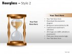 Hourglass Style 2 PowerPoint Presentation Slides
