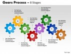 PowerPoint Template Company Gears Process Ppt Slides
