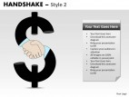 PowerPoint Template Growth Handshake Ppt Slides
