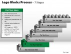 PowerPoint Template Leadership Lego Blocks Process Ppt Slides