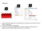 PowerPoint Template Process Lego Blocks Process Ppt Slides