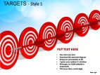 Targets Style 1 PowerPoint Presentation Slides