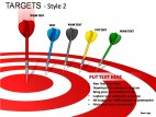 Targets Style 2 PowerPoint Presentation Slides