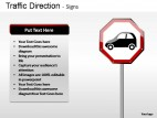 Traffic Direction Signs PowerPoint Presentation Slides