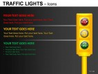 Traffic Lights Icons PowerPoint Presentation Slides