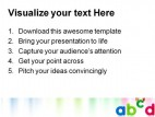 Abcd Education PowerPoint Template 1010