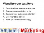 Affiliate Marketing Business PowerPoint Templates And PowerPoint Backgrounds 0411