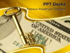 American Dream Money PowerPoint Templates And PowerPoint Backgrounds 0411