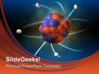 Atom01 Science PowerPoint Template 0610