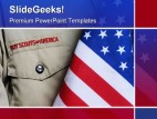 Bsa Uniform Americana PowerPoint Template 1010