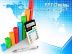 Business Chart Showing Finance PowerPoint Templates And PowerPoint Backgrounds 0411