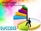 Business Growth Success Finance PowerPoint Background And Template 1210