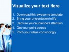 Business Look People PowerPoint Template 1010