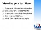 Business Meeting People PowerPoint Template 0810