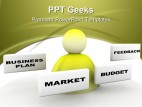 Business Plan Marketing PowerPoint Templates And PowerPoint Backgrounds 0411