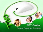 Call Center Mouse Business PowerPoint Templates And PowerPoint Backgrounds 0411