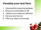 Christmas Decorations Festival PowerPoint Templates And PowerPoint Backgrounds 0411