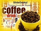 Coffee food powerpoint template 0810 toneelgroepblik Gallery