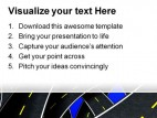 Confusion Business PowerPoint Template 0510