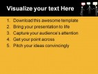 Conversation People PowerPoint Template 0510