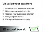 Customer Service Business PowerPoint Template 0810