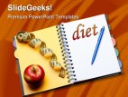 Diet Health PowerPoint Backgrounds And Templates 1210