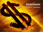 Dollar Sign01 Finance PowerPoint Backgrounds And Templates 1210