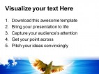 Dove Animals Nature PowerPoint Template 1010