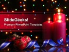 Evening Christmas PowerPoint Template 0610