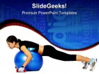 Excercise Health PowerPoint Template 0610