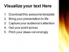 Fire Abstract Religion PowerPoint Templates And PowerPoint Backgrounds 0411