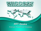 Global Success Business PowerPoint Templates And PowerPoint Backgrounds 0411