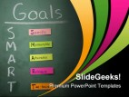 Goals Business PowerPoint Template 0610