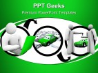 Going Online To Find Car Internet PowerPoint Templates And PowerPoint Backgrounds 0411