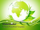 Green Earth Nature PowerPoint Background And Template 1210