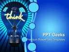 Light Bulb Business PowerPoint Templates And PowerPoint Backgrounds 0411