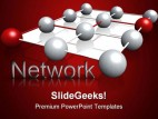 Network Internet PowerPoint Template 0810