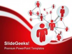 Network Internet PowerPoint Template 0910