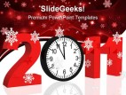 New Year 2011 Future PowerPoint Backgrounds And Templates 1210