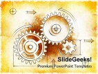 Old Project Business PowerPoint Backgrounds And Templates 1210