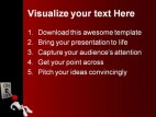 On Off People PowerPoint Template 0810