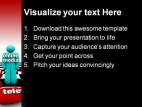 Online Media People PowerPoint Backgrounds And Templates 1210
